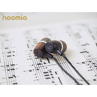 hoomia Bon5HD natural logs ear style earphones