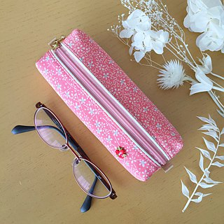 Glasses Case with Japanese Traditional pattern, Kimono [Pure Silk]