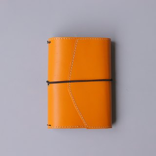 2019 leather PDA | A6 | warm orange | replace the inside page