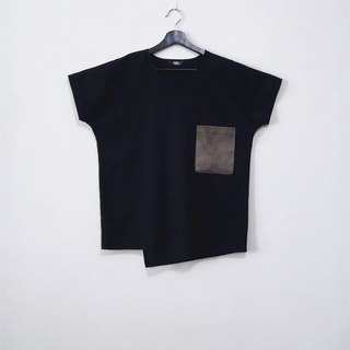 Hand made tilt 1% black shirt