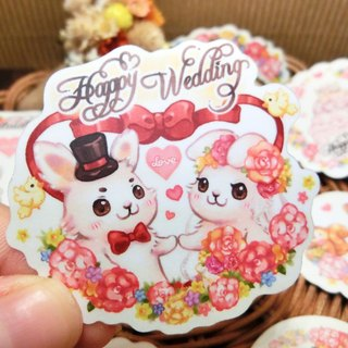 Styling Sticker Pack - Wedding Rabbit