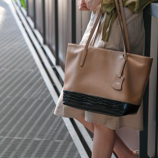 Harbour Tote Bag - Camel