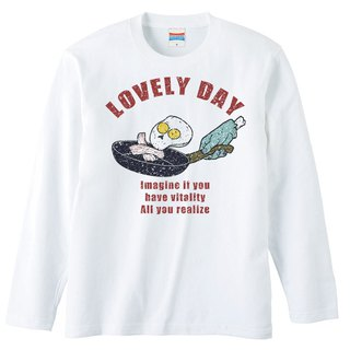 Long sleeve T shirt / Lovely day