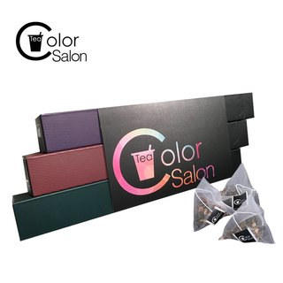 [Color Salon Tea] strict selection of the best three into the group creative gift group