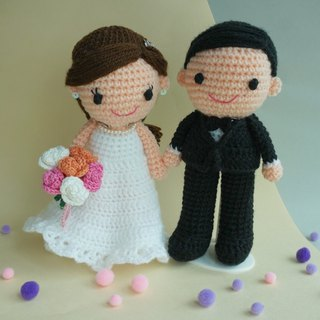 Wedding Decoration – Western couple wedding dolls