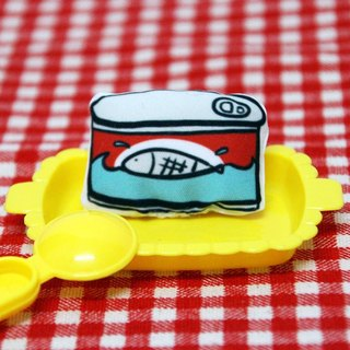Let the body to eat good food - canned fish pin
