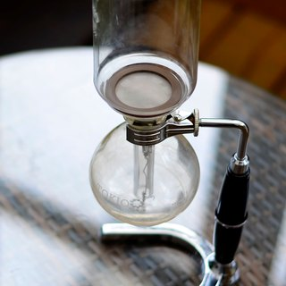 Siphon kettle stainless steel filter