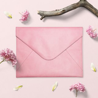 Bellagenda 13 inch tablet Bag, Document Envelope, Sleeve Notebook Case Rose Pink