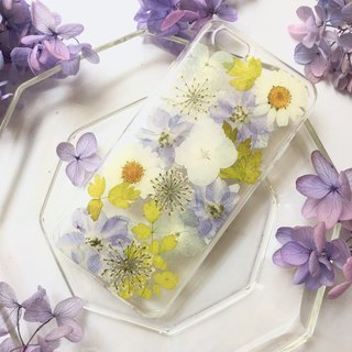 Maternal love:: Happy Mother's Day:: pressed flower iphone case