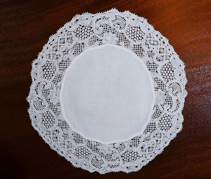 Lace round lace--old western piece--1949