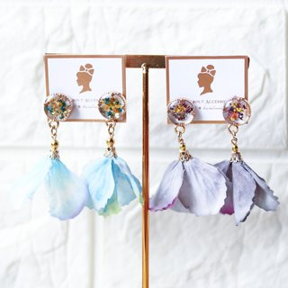 Floral collection : Hydrangea Earrings