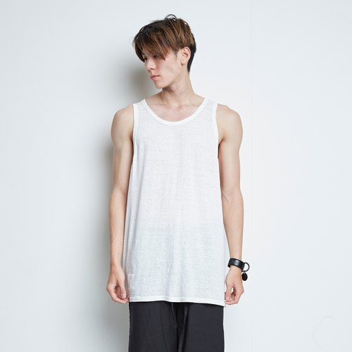 HOMELAND] [cotton loose long version elegant word vest