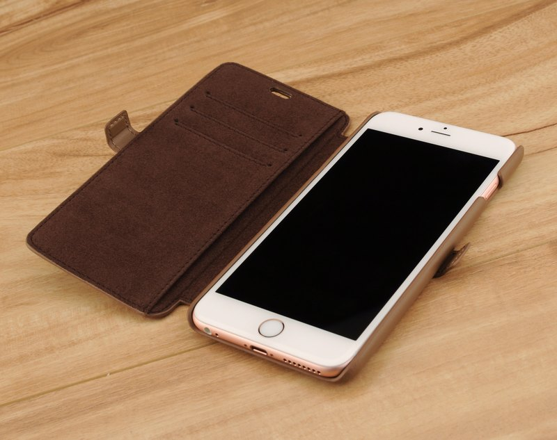 STORYLEATHER customized iPhone 6 plus / 6S plus (5.5 inches) Style i6P3 hard shell side flip holster