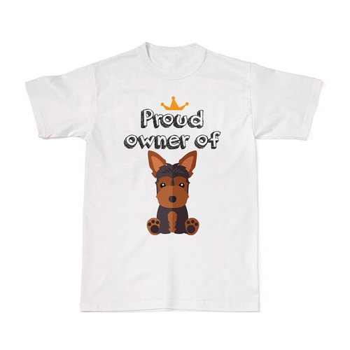 Proud Dog Owners Tees - Yorkshire Terrier