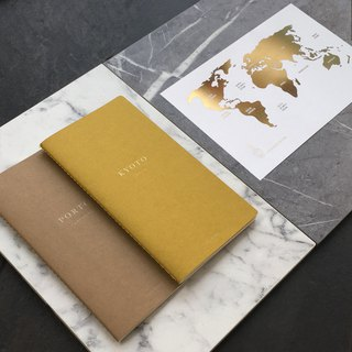 Goody Bag - Travel with Daren / City Guide Book x Postcard