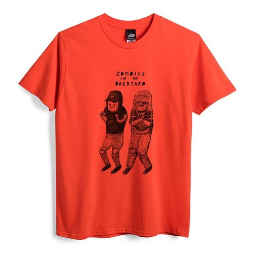 Wayne & Garth - Orange - Neutral Edition T-Shirt