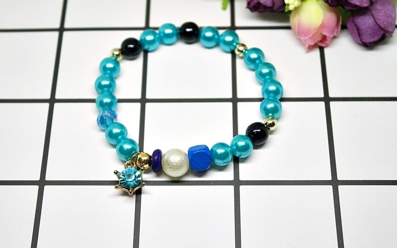 Childlike charm ღ alloy * blue little princess * # cute # # back to childhood # # children gifts #