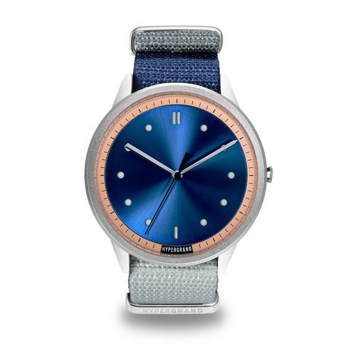 HYPERGRAND - 02 Basic Collection - MIDNIGHT NAVY Blu-ray Light Watch
