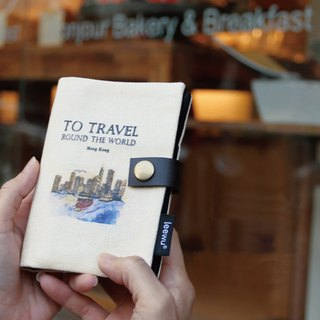Travel passport set ‧ small travel and life tour 1