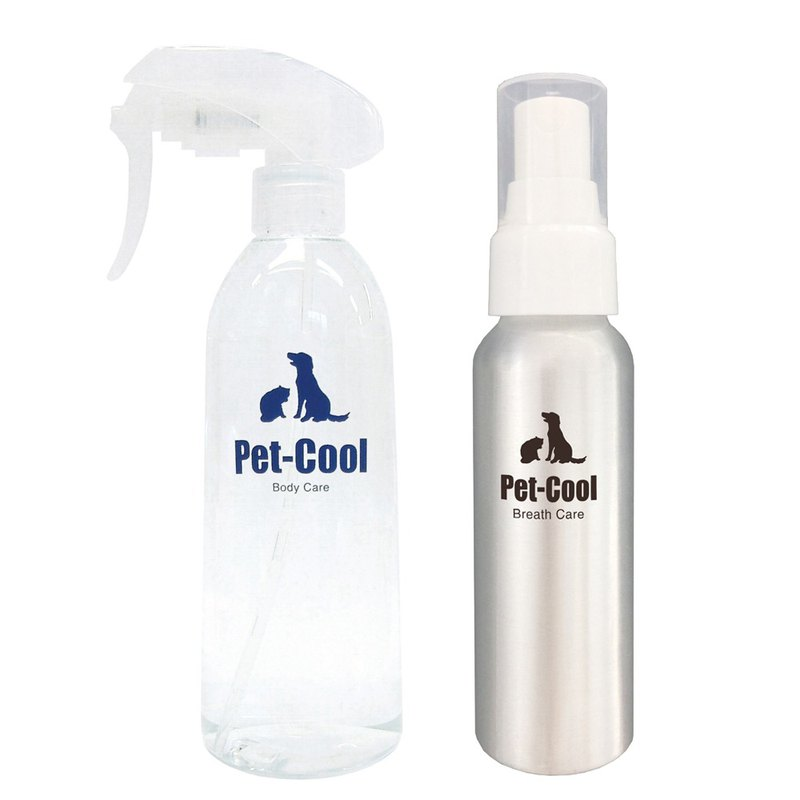 PetCool Cleansing Care Combination - Improves tear marks to relieve wounds / Improves bad breath, calculus, calculus 100ml
