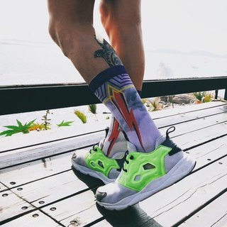 【LIFEBEAT】Lightning Athletic Crew Socks for men&women