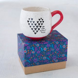 Little ink circle mug-heart happy | MUG297