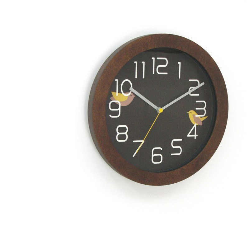 Ritter Home Decorative Wood Wall Clock