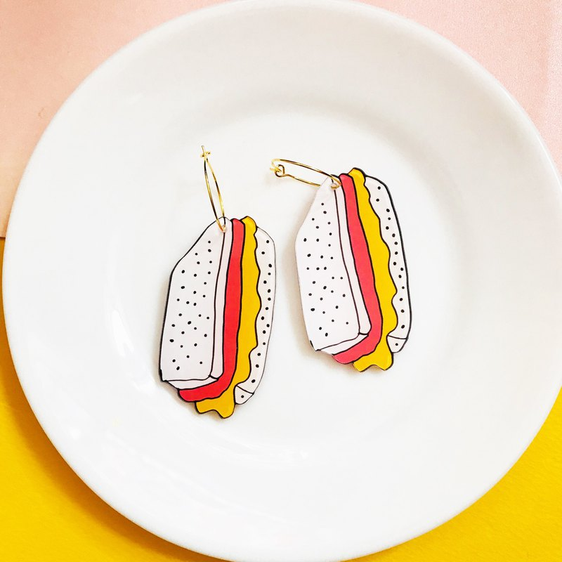 ISATISSE Sandwich Earrings