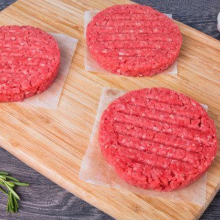 No added JuicyJuicy and beef hamburger steak (120G/tablet) 100% original meat without any seasoning
