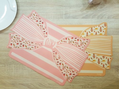Bow slip mat insulation single set of 3D fabric mute air Potter Giant] [Prodigy