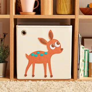 Beauty kaikai & ash Toy Storage Box - Elegant Fawn