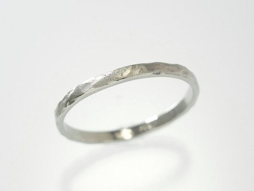 "Japan Quality | inGod Stacking Ring ""Iwa"" 14K WG"