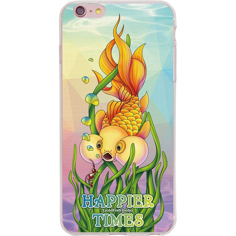 "Happy New Year time series goldfish Bobo] - Light Army -TPU phone case ""iPhone / Samsung / HTC / LG / Sony / millet / OPPO"""