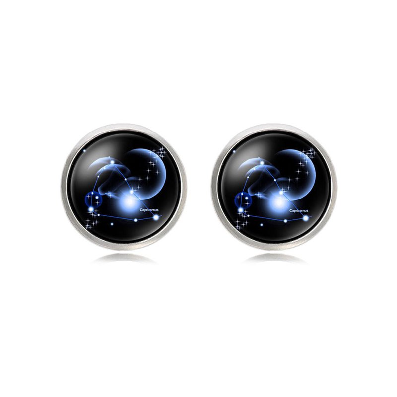摩羯座袖扣 Capricorn Cufflinks KC10156 ** 附送贈品 **