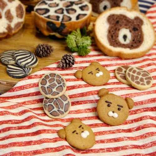 Healing Department Zoo Shape Cookies (6 Pieces)