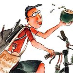 Cycling Illustrator