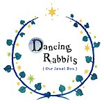 Dancing Rabbits {Handmade Jewelry}
