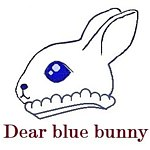 From Taiwan - dear blue bunny