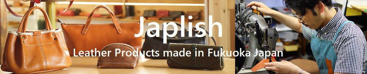 Designer Brands - Japlish Leather Goods Made in JAPAN