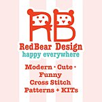 Redbear Design - Happy Everywhere - Cross Stitch Kits Shop